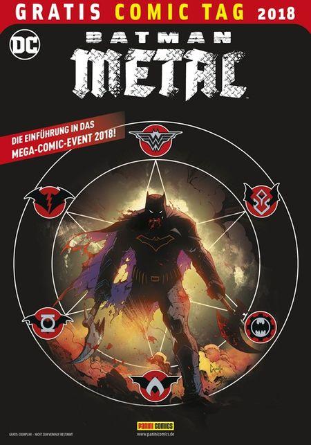 Batman Metal – Gratis Comic Tag 2018 - Das Cover