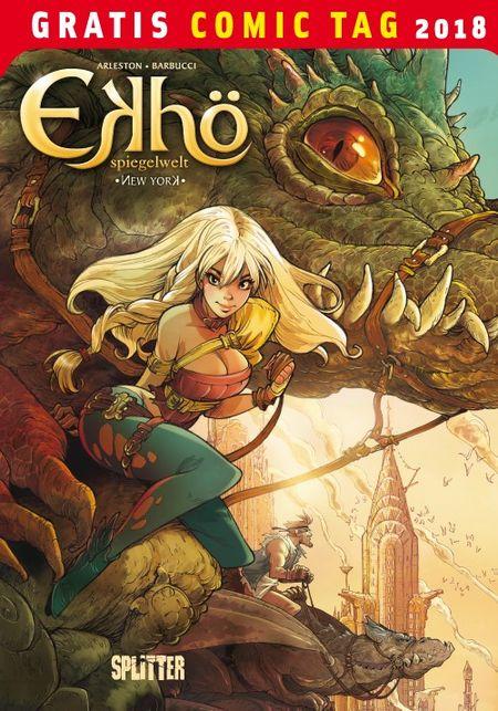 Ekhö Spiegelwelt 1: New York - Gratis Comic Tag 2018 - Das Cover