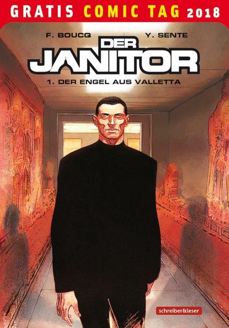 Der Janitor 1: Der Engel aus Valletta - Gratis Comic Tag 2018 - Das Cover