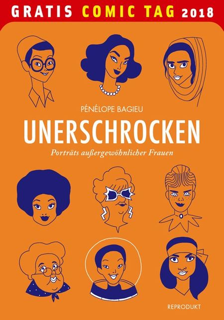 Unerschrocken - Gratis Comic Tag 2018 - Das Cover
