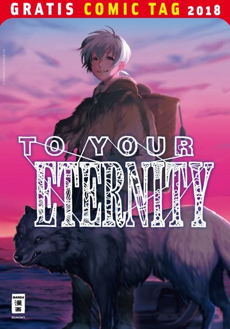 To Your Eternity - Gratis Comic Tag 2018 - Das Cover