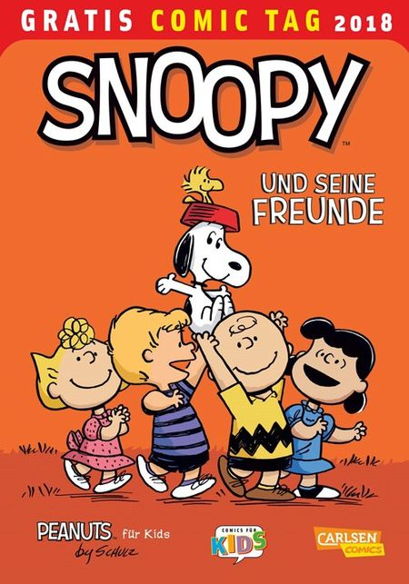 Snoopy und seine Freunde - Gratis Comic Tag 2018 - Das Cover