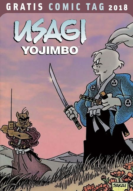 Usagi Yojimbo - Gratis Comic Tag 2018 - Das Cover