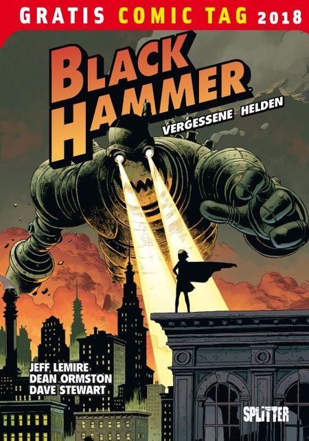 Black Hammer - Gratis Comic Tag 2018 - Das Cover