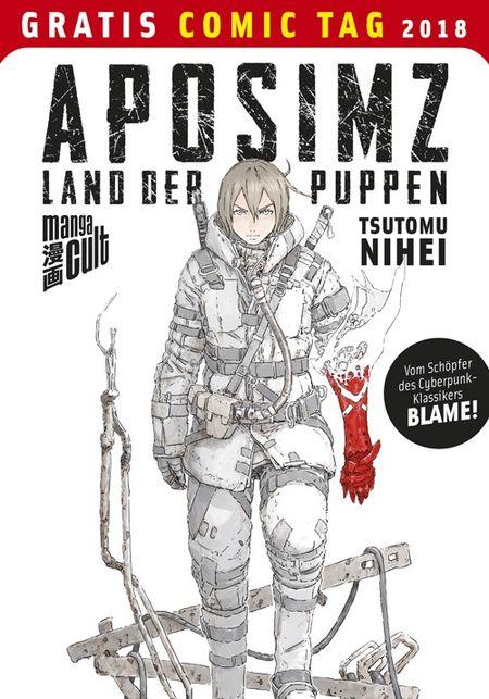 Aposimz - Gratis Comic Tag 2018 - Das Cover