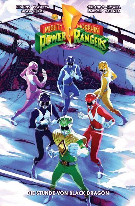 Mighty Morphin Power Rangers 2: Die Stunde des Black Dragon - Das Cover
