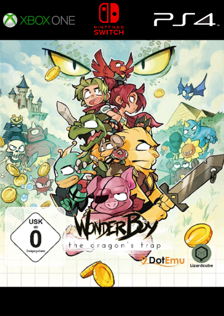 Wonder Boy: The Dragon's Trap - Der Packshot