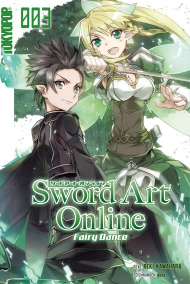 Sword Art Online-Novel 03: Fairy Dance - Das Cover