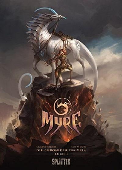 Myre - Die Chroniken von Yria: Buch 1 - Das Cover