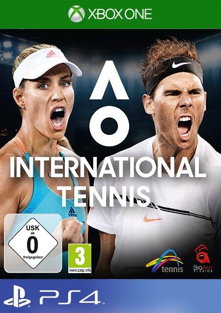 AO International Tennis - Der Packshot