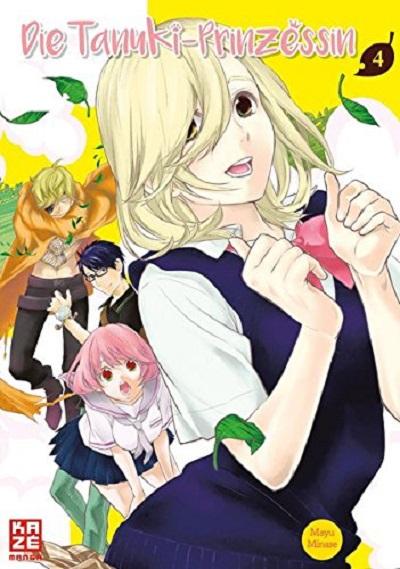 Die Tanuki-Prinzessin 4 - Das Cover