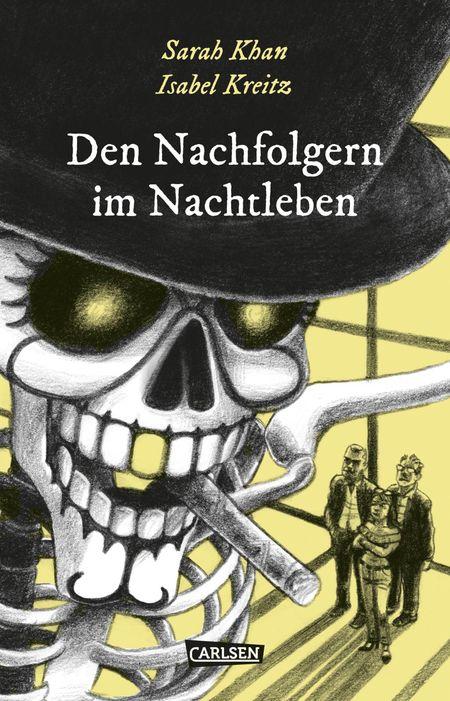 Die Unheimlichen – Den Nachfolgern im Nachtleben - Das Cover