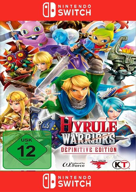 Hyrule Warriors: Definitive Edition - Der Packshot
