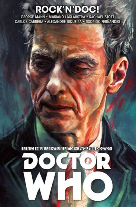 Doctor Who – Der zwölfte Doktor 5: Rock´n`Doc! - Das Cover