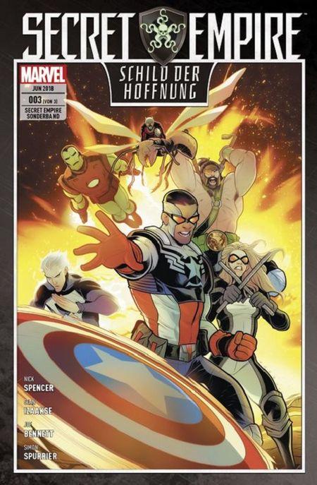 Secret Empire Sonderband 3: Schild der Hoffnung - Das Cover