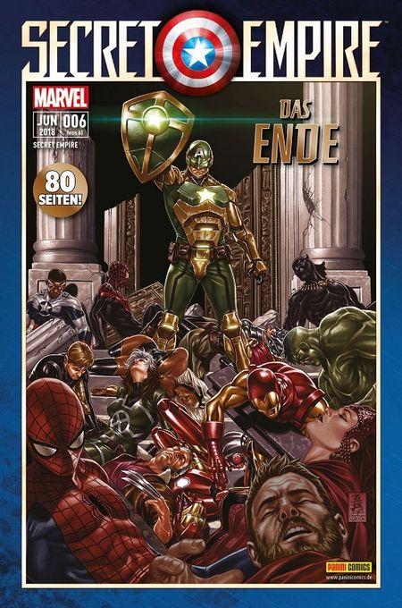 Secret Empire 6: Das Ende  - Das Cover