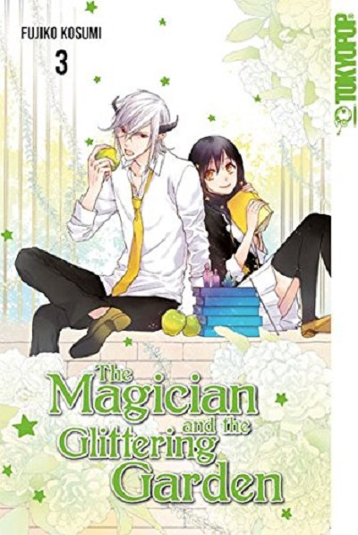 The Magician and the Glittering Garden 3 - Das Cover