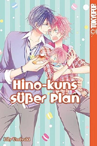 Hino-kuns süßer Plan  - Das Cover