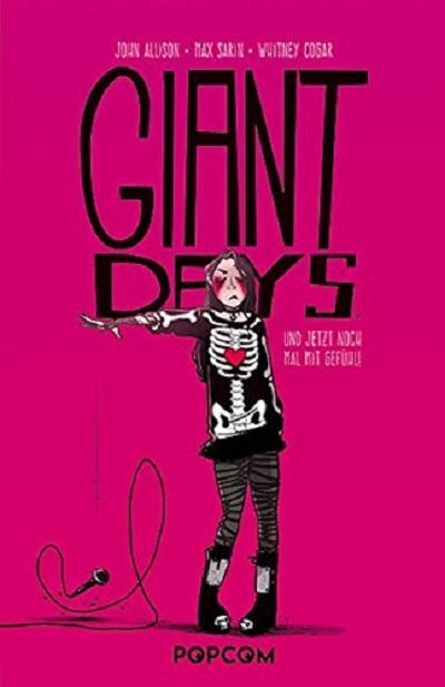 Giant Days 4: Und jetzt noch einmal mit Gefühl! - Das Cover