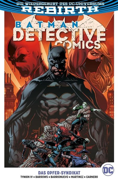 Batman - Detective Comics (Rebirth) 2: Das Opfer-Syndikat  - Das Cover
