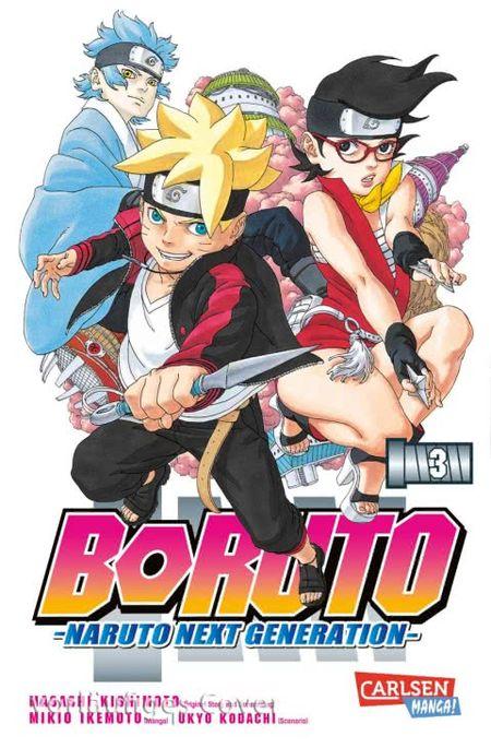 Boruto-Naruto Next Generation 3 - Das Cover