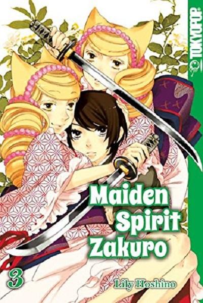 Maiden Spirit Zakuro 3 - Das Cover
