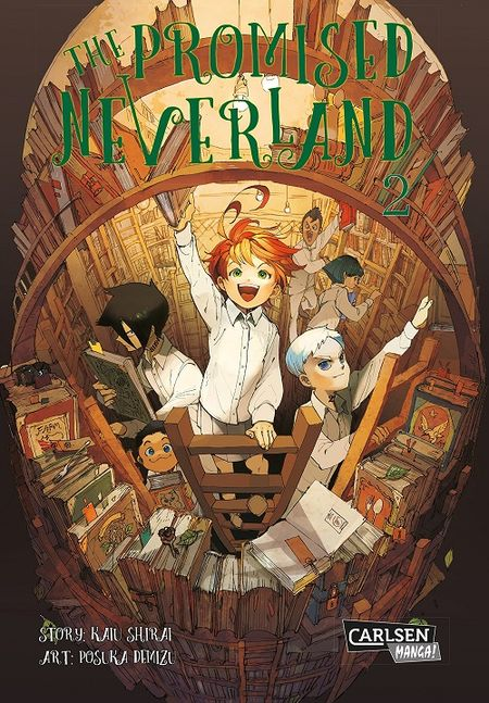 The Promised Neverland 2 - Das Cover