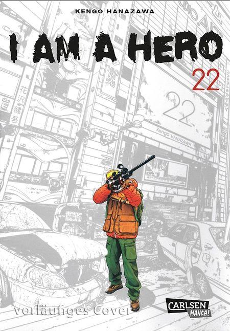 I am a Hero 22 - Das Cover