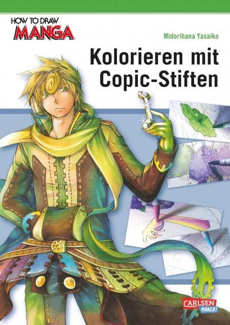 How To Draw Manga: Kolorieren mit Copic-Stiften - Das Cover