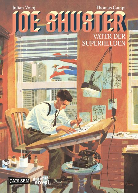 Joe Shuster – Vater der Superhelden - Das Cover