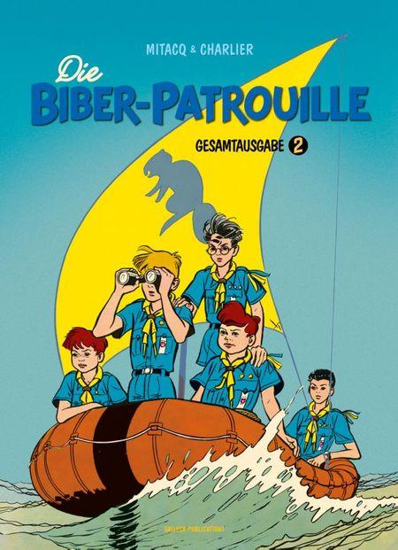 Die Biber-Patrouille – Gesamtausgabe 2 - Das Cover