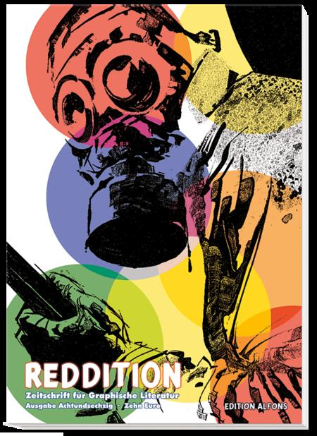 Reddition 68: Dossier Oesterheld, Pratt, Breccia & Co. - Das Cover
