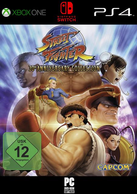 Street Fighter 30th Anniversary Collection - Der Packshot