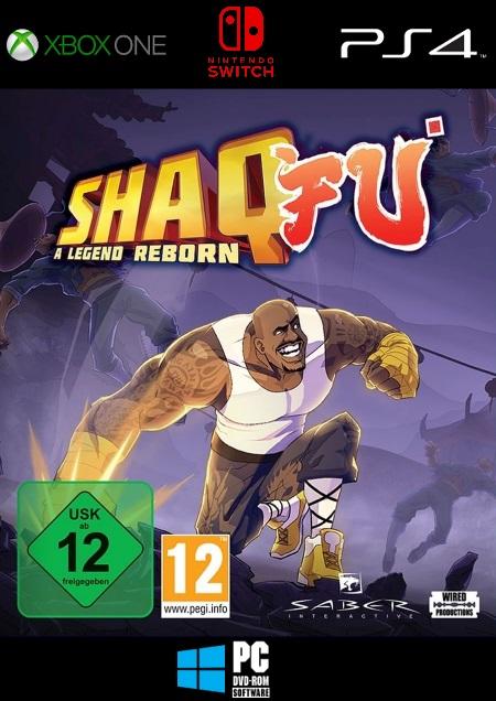 Shaq Fu: A Legend Reborn - Der Packshot