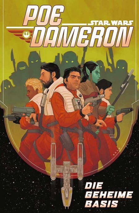 Star Wars Sonderband (102): Poe Dameron 3: Die geheime Basis - Das Cover
