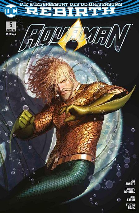 Aquaman (Rebirth) 5: Unterwelt - Das Cover