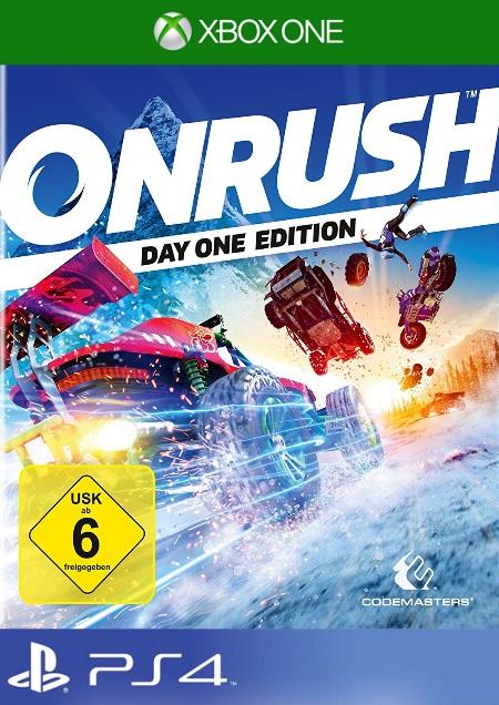 Onrush - Der Packshot