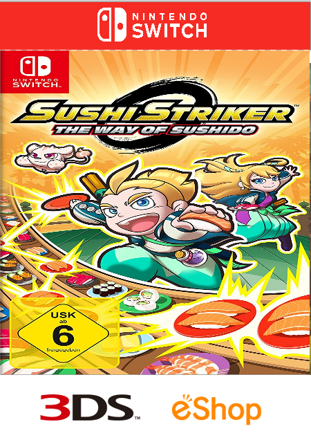 Sushi Striker: The Way of Sushido - Der Packshot