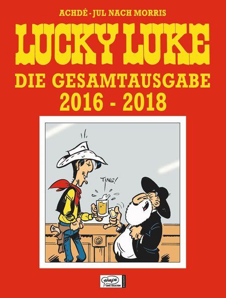 Lucky Luke Gesamtausgabe 2016 - 2018 - Das Cover