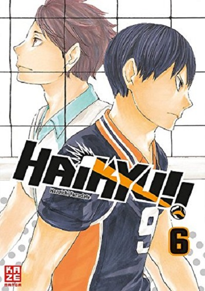 Haikyu!! 6 - Das Cover