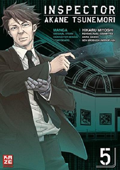 Inspector Akane Tsunemori 5 - Das Cover