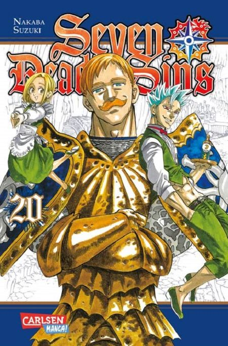 Seven Deadly Sins 20 - Das Cover