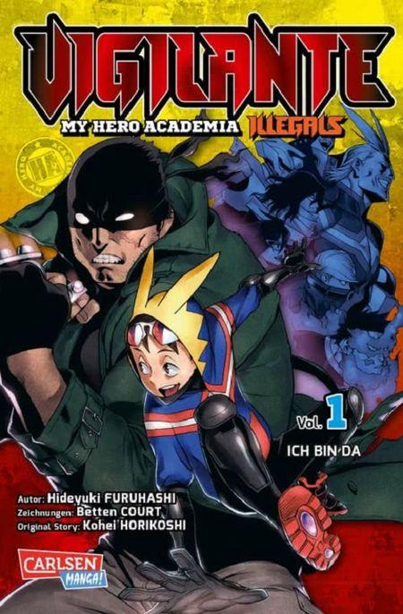 Vigilante – My Hero Academia Illegals 1 - Das Cover