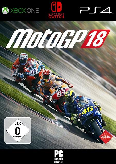 MotoGP 18 - Der Packshot