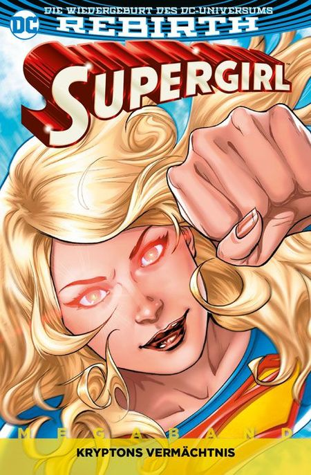 Supergirl Rebirth 1-Kryptons Vermächtnis - Das Cover