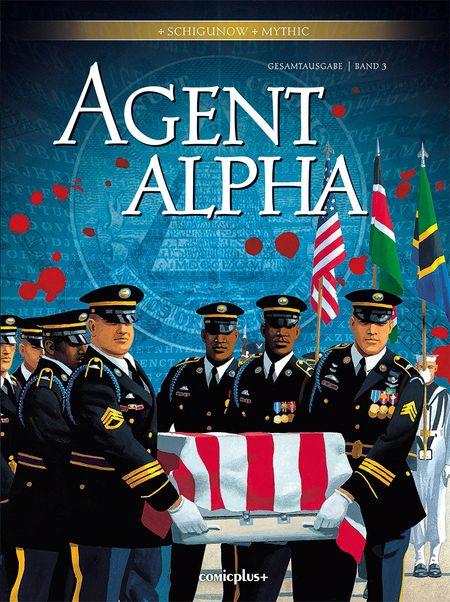 Agent Alpha – Gesamtausgabe Band 3 - Das Cover