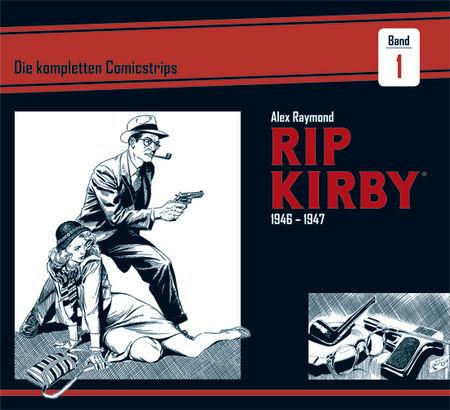 Rip Kirby 1946-1947 - Das Cover
