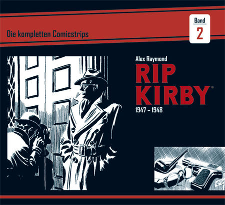 Rip Kirby 1947-1948 - Das Cover