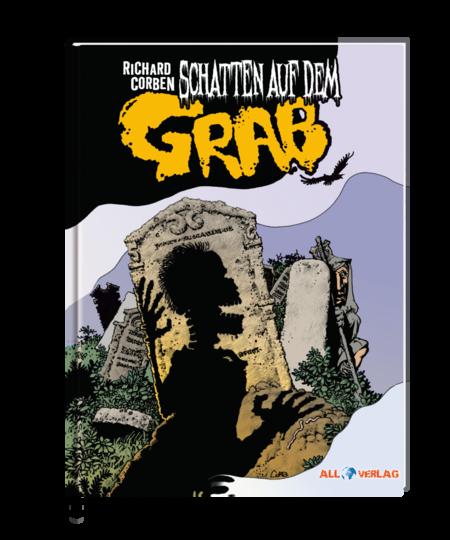 Schatten auf dem Grab - Das Cover