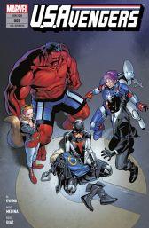U. S. Avengers 2: Trauer und Triumph - Das Cover